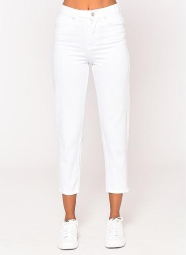 Loves You Jean Pantolon Beyaz